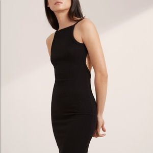 Aritzia Community Hartmann Bodycon Low Back Dress